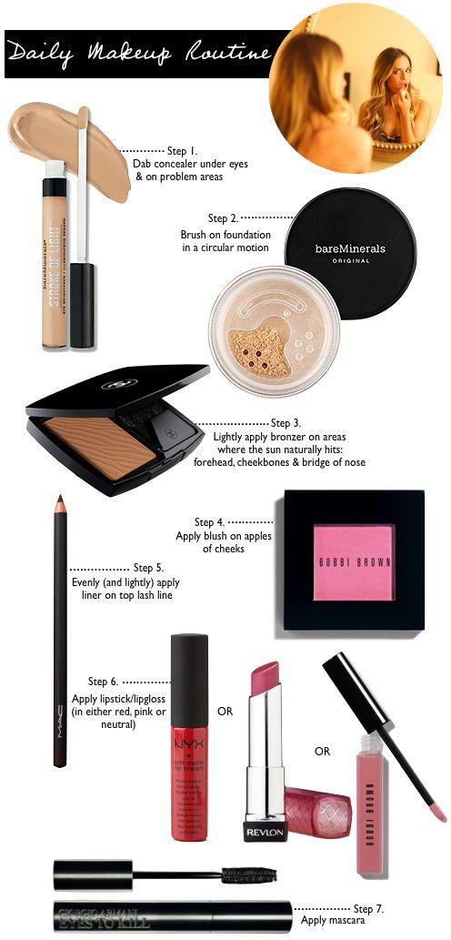 Everyday Makeup Daily Makeup Routine Makeup Routine Daily Makeup