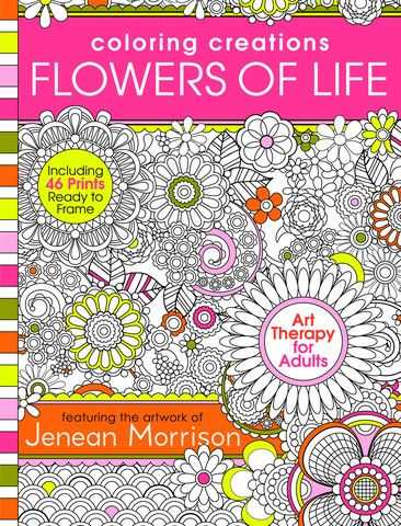 Coloring Creations Flowers Of Life