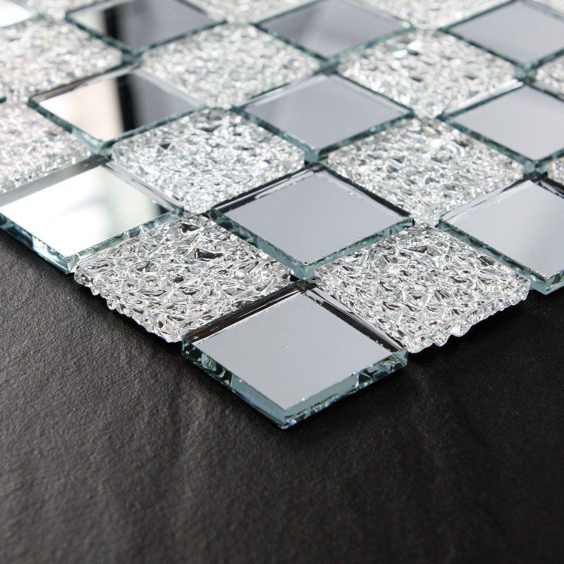 Crystal Glass Tile Mosaic Floor Tile Wholesale Kitchen Backsplash