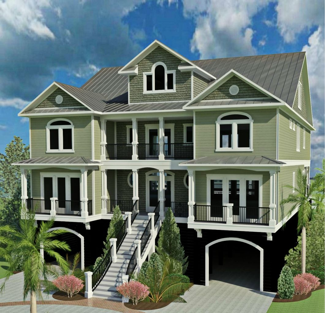 CRG Home Design we are building oceanfront in Garden City
