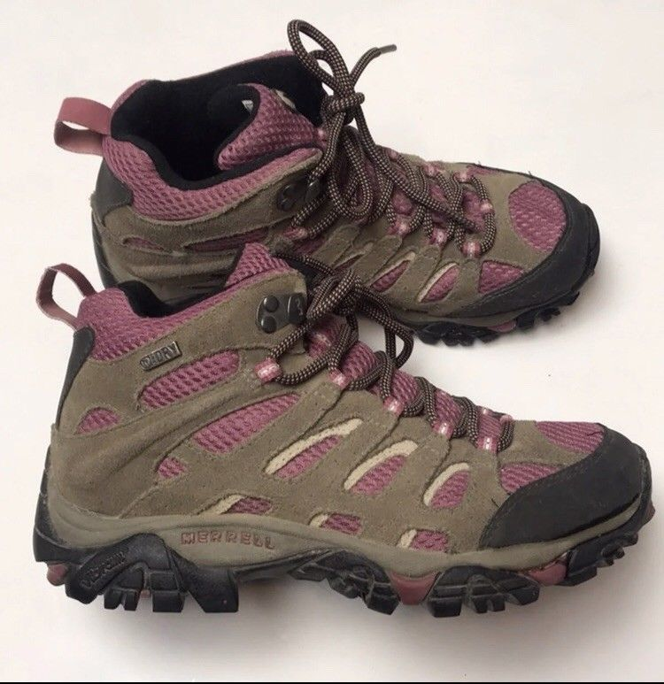 60cc64cadf6 Merrell Women s Moab 2 Mid Waterproof Boulder Blush 7  fashion  clothing   shoes  accessories  womensshoes  boots (ebay link)