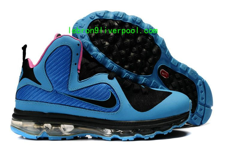 wholesale dealer f5463 63a67 2009 Lebron 9 Max Royal Blue Pink