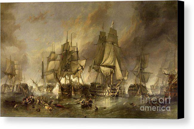 Battle Of Trafalgar Canvas Print Canvas Art By Wonderful Ireland Canvas Art Prints Posters Art Prints Art