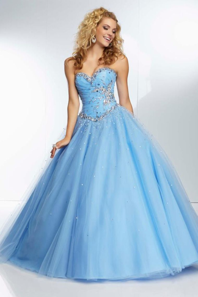 2014 Pleated And Fitted Bodice Ball Gown Floor Length Dress Corset ...