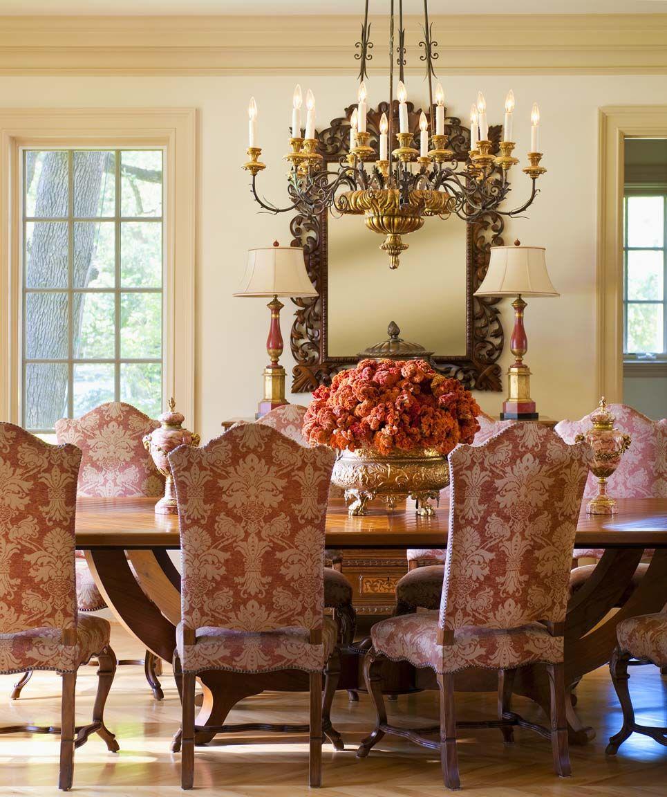 30 Elegant Traditional Dining Design Ideas Dwelling Decor: Mediterranean Design By - Chambers Interiors