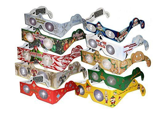 20 3D Christmas Glasses – Holiday Specs – 3D Christmas Glasses ...