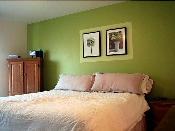Green Wall Paint For Bedroom Custom How To Decorate A Bedroom With Green Walls  Green Walls Green . Inspiration Design