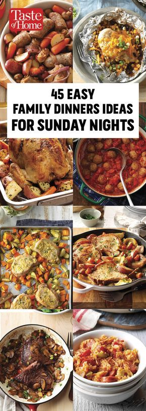 55 Simple Sunday Suppers images