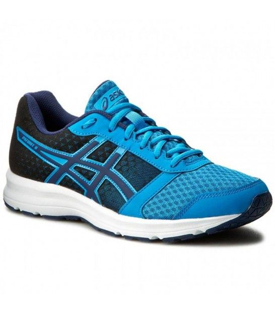 Asics Patriot 8 Imperial Indigo Blue White Running Shoes For Men Sneakers Shoes Mens