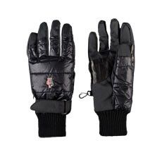 moncler leather gloves