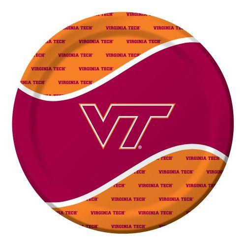 Creative Converting 8 Count Virginia Tech Hokies Paper Dinner Plates Creative Converting http://www.amazon.com/dp/B00FPSZFCA/ref=cm_sw_r_pi_dp_R2Cnub01KPTZJ