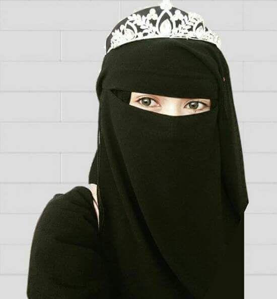 how to wear hijab with niqab