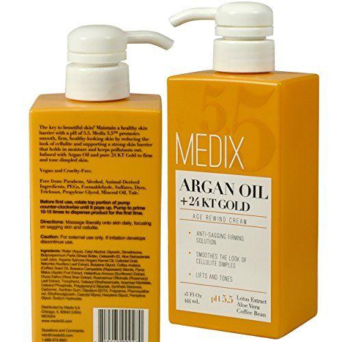 Photo of Medix 5.5 Argan Oil Cream with 24kt Gold. Anti-sagging firmi…
