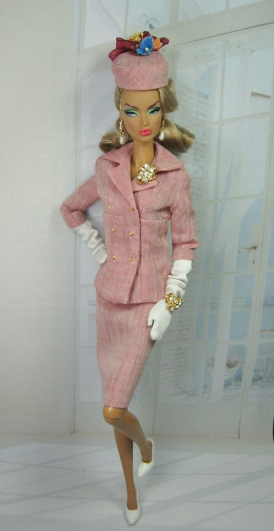 Summer Red and Suits for Silkstone Barbie and Victoire Roux on Etsy now