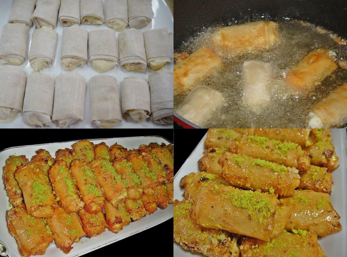 عالم الطبخ والجمال طريقة عمل زنود الست Food Recipes Food And Drink