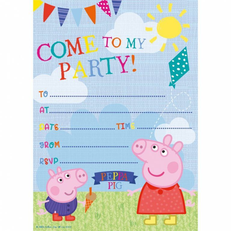 Tips Easy Peppa Pig Invitations Template Free New Hd Peppa Pig Invitations Peppa Pig Birthday Invitations Peppa Pig Birthday Party