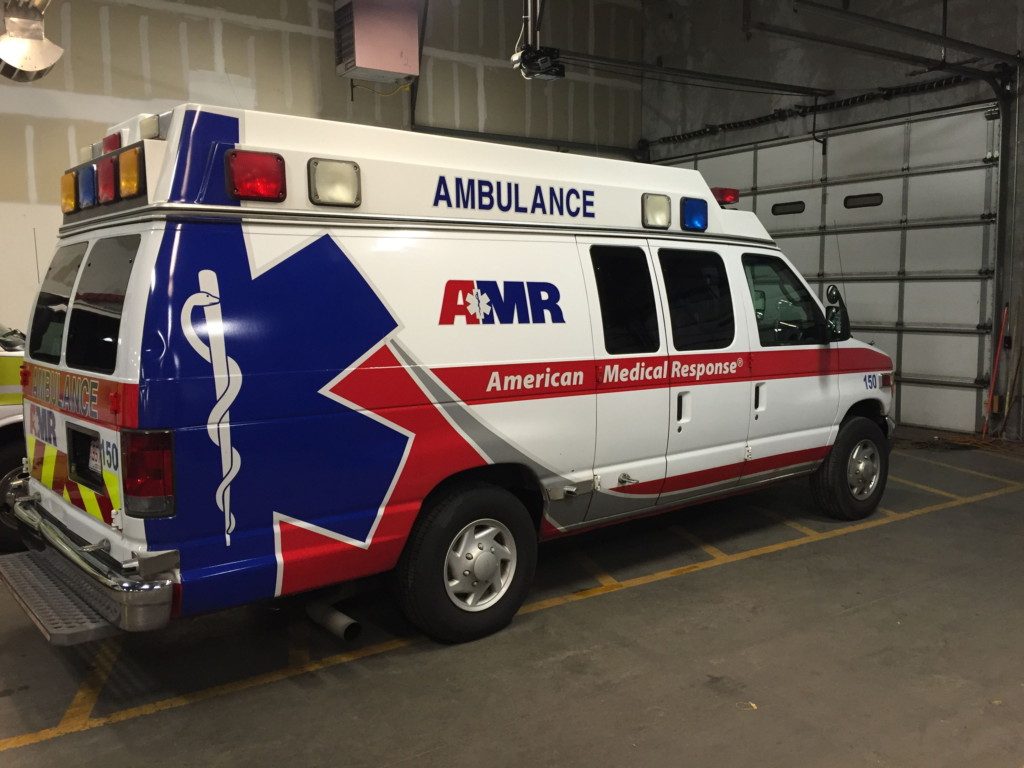 American Medical Response Ambulance 150 Ford E 250