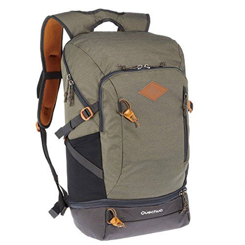fce3bd0911 Quechua NH500 30L HIKING BACKPACK - KHAKI Review