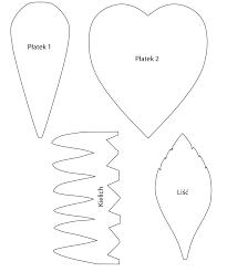 Resultado de imagem para ozdoby z filcu szablon