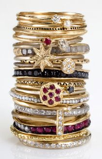 Satomi Kawakita is the designer behind these tiny, delicate stacking bands that are incredibly irresistible. With a dress-maker for a mother and a background in glass-blowing, Satomi's unique mixture has led her to create a jewelry line. At college she studied wood, metal, clay and textile design/creation in Japan. After working for a glass artist while in college, her love for making jewelry began to surface. She took her passion to New York City and studied jewelry making at Studio…
