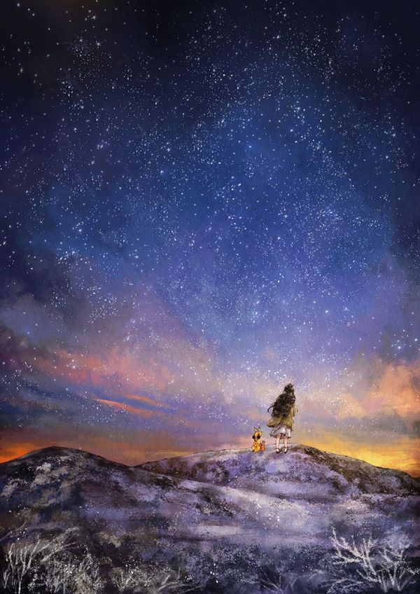 문득 잠에서 깬 밤 나는 다시 잠들려 애쓰지 않고 두터운 외투를 걸치고서 작은 언덕에 올랐습니다 흰 입김을 내며 오른 언덕 위에는 이미 까맣게 어두운 밤이 지나고 새벽을 맞이하는 하늘이 아직 얼굴에 잠이 묻어 있는 나를 완연히 깨웠습니다 푸른 밤과 새벽 사이, 아침은 희미한 빛을 내며 조금씩 나에게로 오고 있었습니다