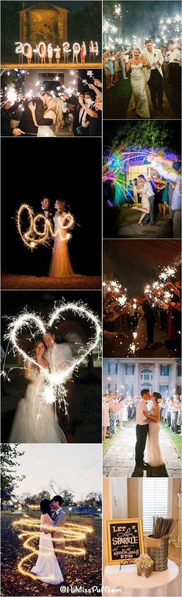 50 Sparkler Wedding Exit Send Off Ideas Wedding
