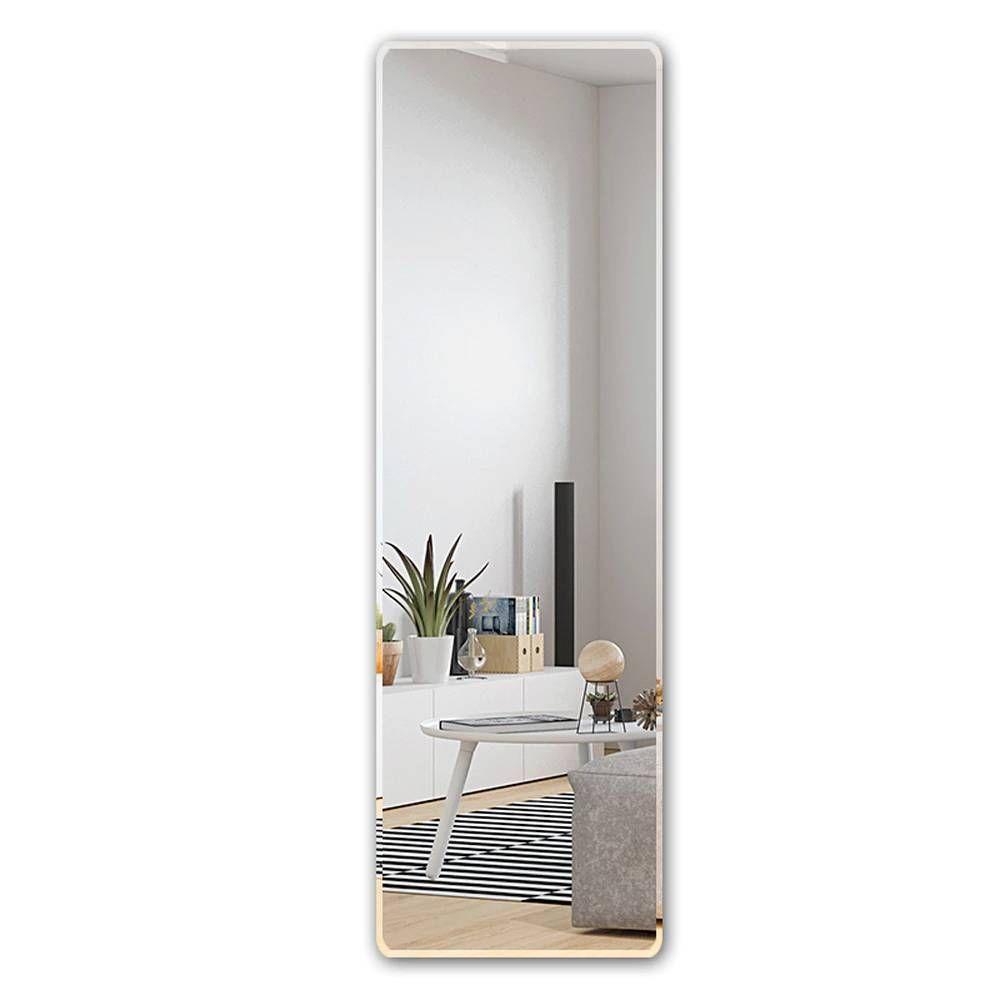 Floor Mirror Full Length Dressing Mirror Wall Hanging Paste Simple