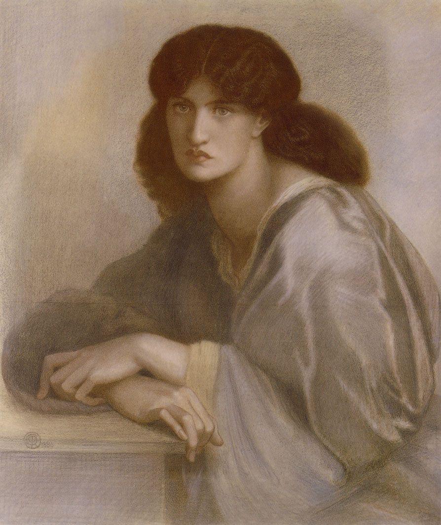 Jane Morris Dante Gabriel Rossetti The Womens Window Jane Morris 1880 Art
