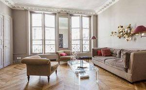 Zimmer Wohnung In Paris #Badezimmer #Büromöbel #Couchtisch #Deko Ideen  #Gartenmöbel #