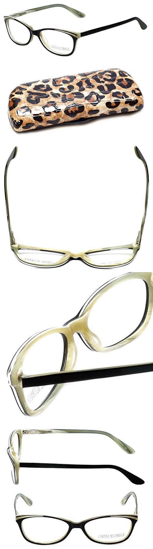 3ec33acc5d23 Corinne McCormack Designer Reading Glasses West End in Black +4.00 ...