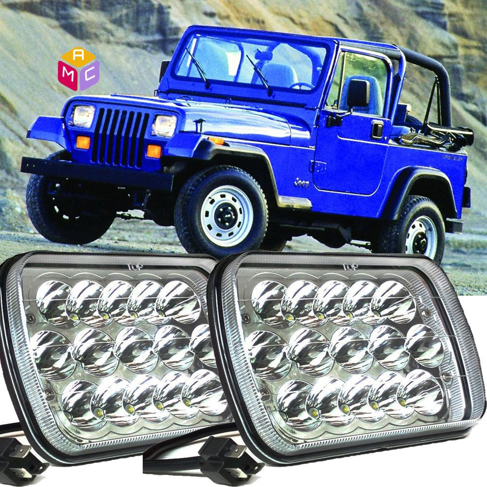 Jeep Wrangler Angry Eyes Grill Oracle Led Headlights Winch Hood Lights Fenders Front Bumper Jeep Wrangler Jeep Led Headlights