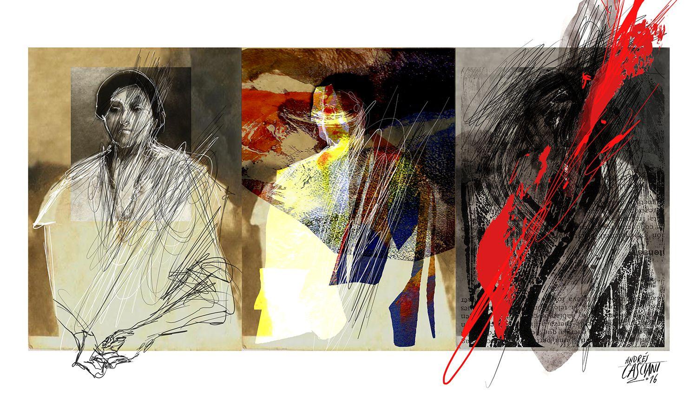 """""""Los hijos de los días"""" - Galeano ilustrado por Casciani 26/3 . acá podés leer el texto:http://andrescasciani.blogspot.com.ar/2016/03/los-hijos-de-los-dias-galeano-ilustrado_26.html"""