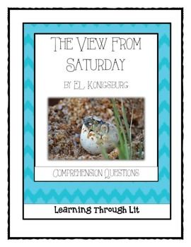 THE VIEW FROM SATURDAY by E.L. Konigsburg - Novel Study ...