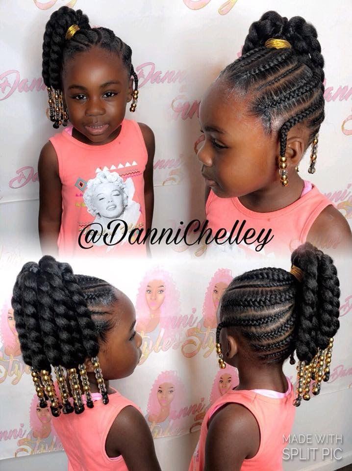 Cute Little Girl Hairstyle Black Kids Hairstyles Cute Little