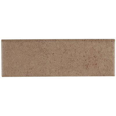 Itona Tile Freeport 9 X 3 Ceramic Bullnose Tile Trim In Brown Tile Trim Stained Concrete Tiles