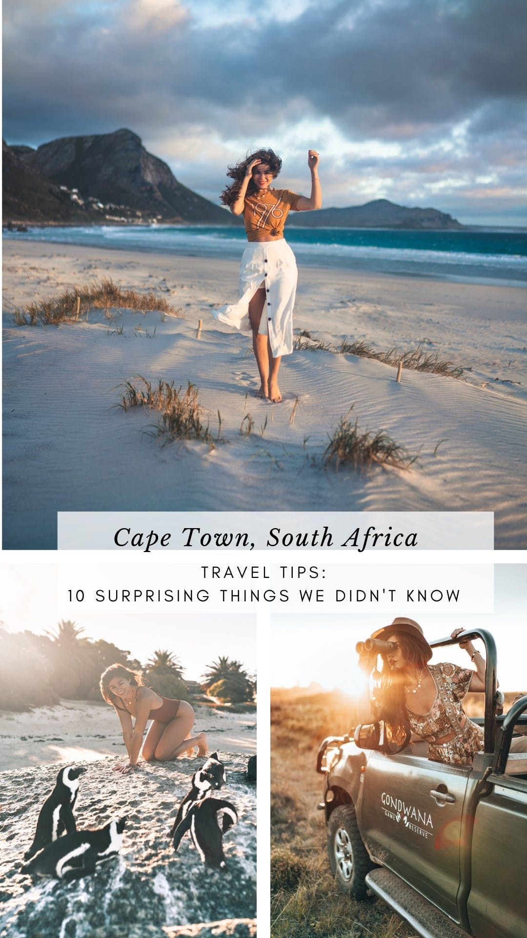10 Surprising Things we Learned Traveling to Cape Town, South Africa   Away Lands - Everything you need to know before planning a trip and traveling to Cape Town. Read on for Travel tips on budgeting for meals, safety, activities, and everything in between - Travel Guide #capetown #travelguide