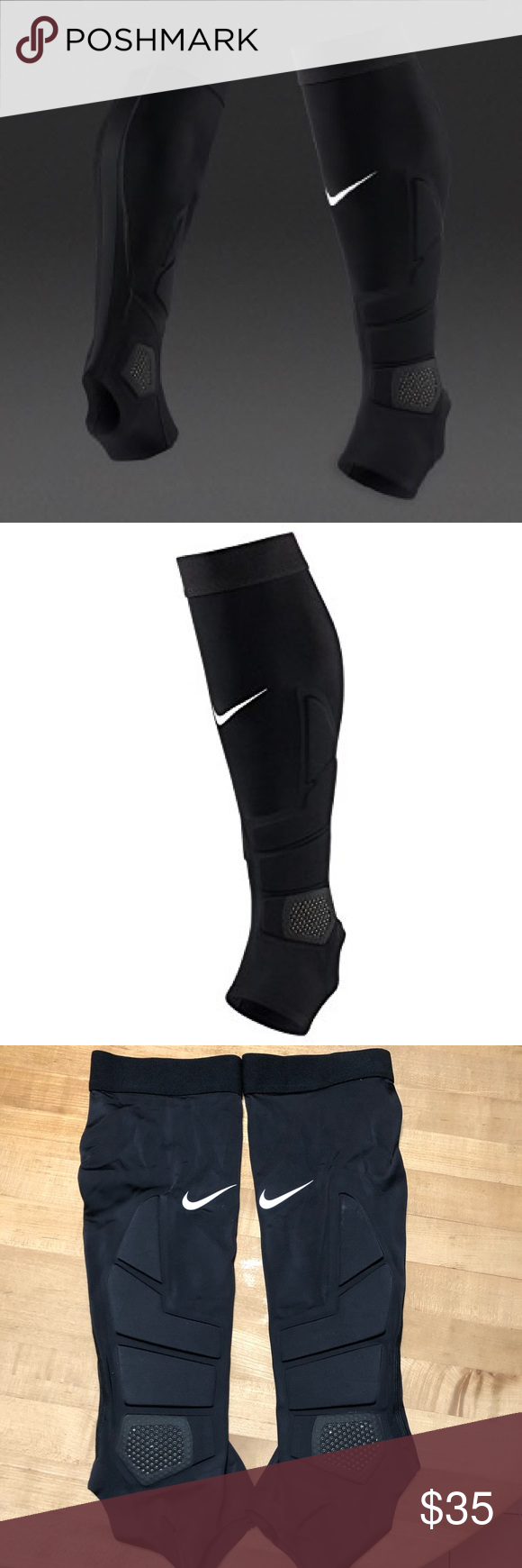 85b23b944ef65 NEW ⚽ Nike Hyperstrong Match Soccer Padded Sleeve Nike Unisex HyperStrong  Match Padded Soccer Sleeves