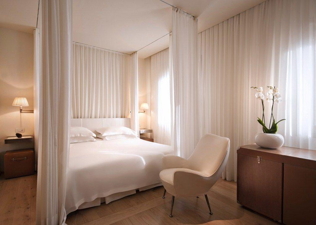 Best 46 Elegant White Themed Bedroom Ideas Luxury Hotel 400 x 300
