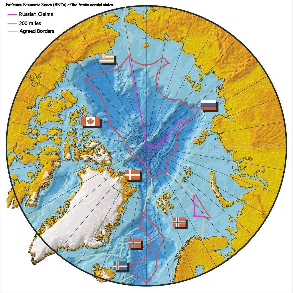 arctic ocean  Recherche Google  arctic ocean maps  Pinterest