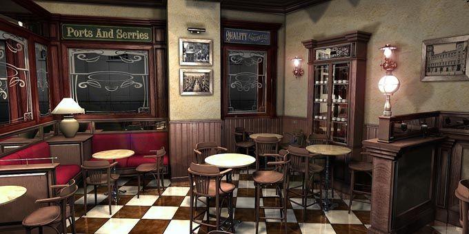 Decoraci n de bares caf 1900 suelo ok ideas bar pinterest decoracion de bares bar y suelos - Suelos para bares ...