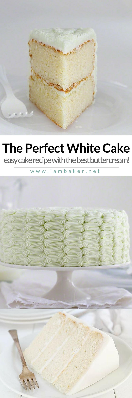 Best Homemade White Cake Mix Recipe | Cake Recipe