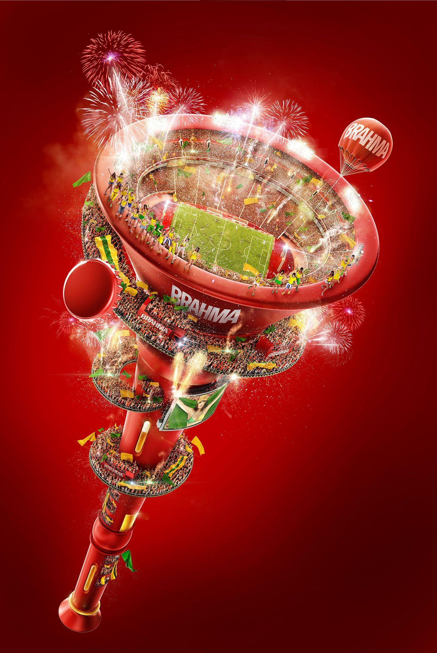 Brahma World Cup On Behance Ads Creative Creative Posters Creative Advertising