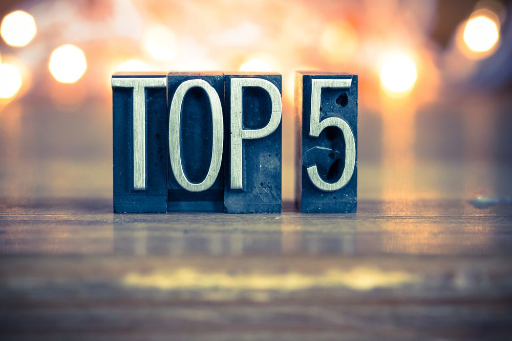 The top five, most interesting technical charts for the forex markets this week (August 8 - 12, 2016). EURUSD, US Dollar index, WTI, XAUUSD and NZDUSD
