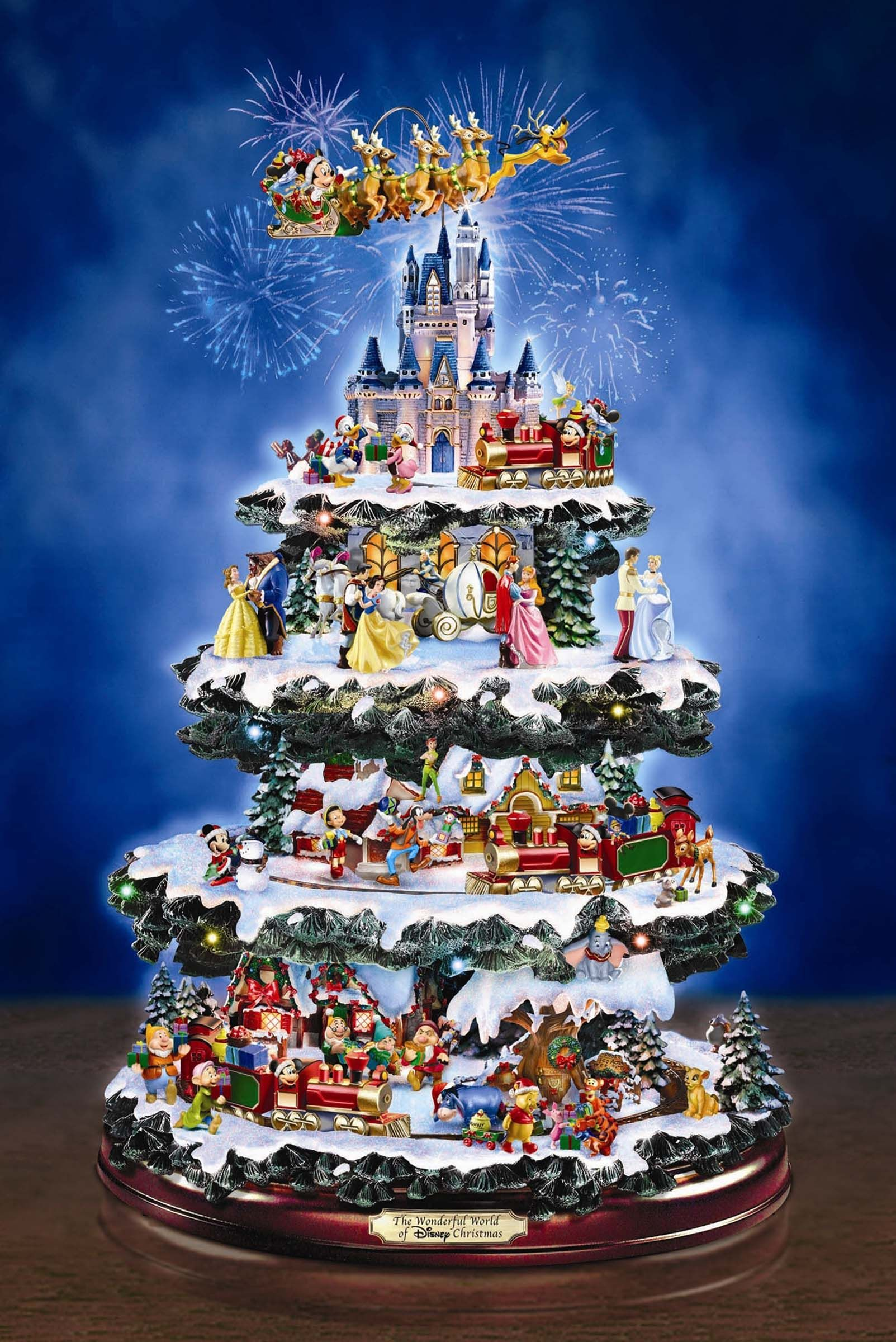 O' Christmas Tree...Disney style Tish this is for u! This is what ...