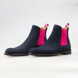 Wildleder Blau Chelsea Boot Damen 2019 Pink In Serfan xsQdhtCr