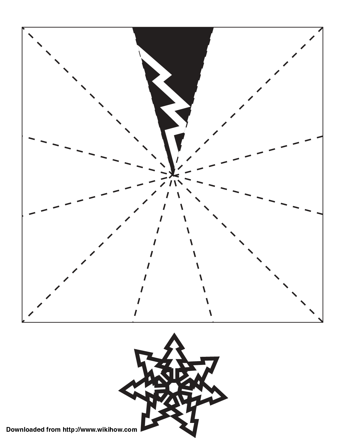 Images Of Paper Snowflake Template Spacehero
