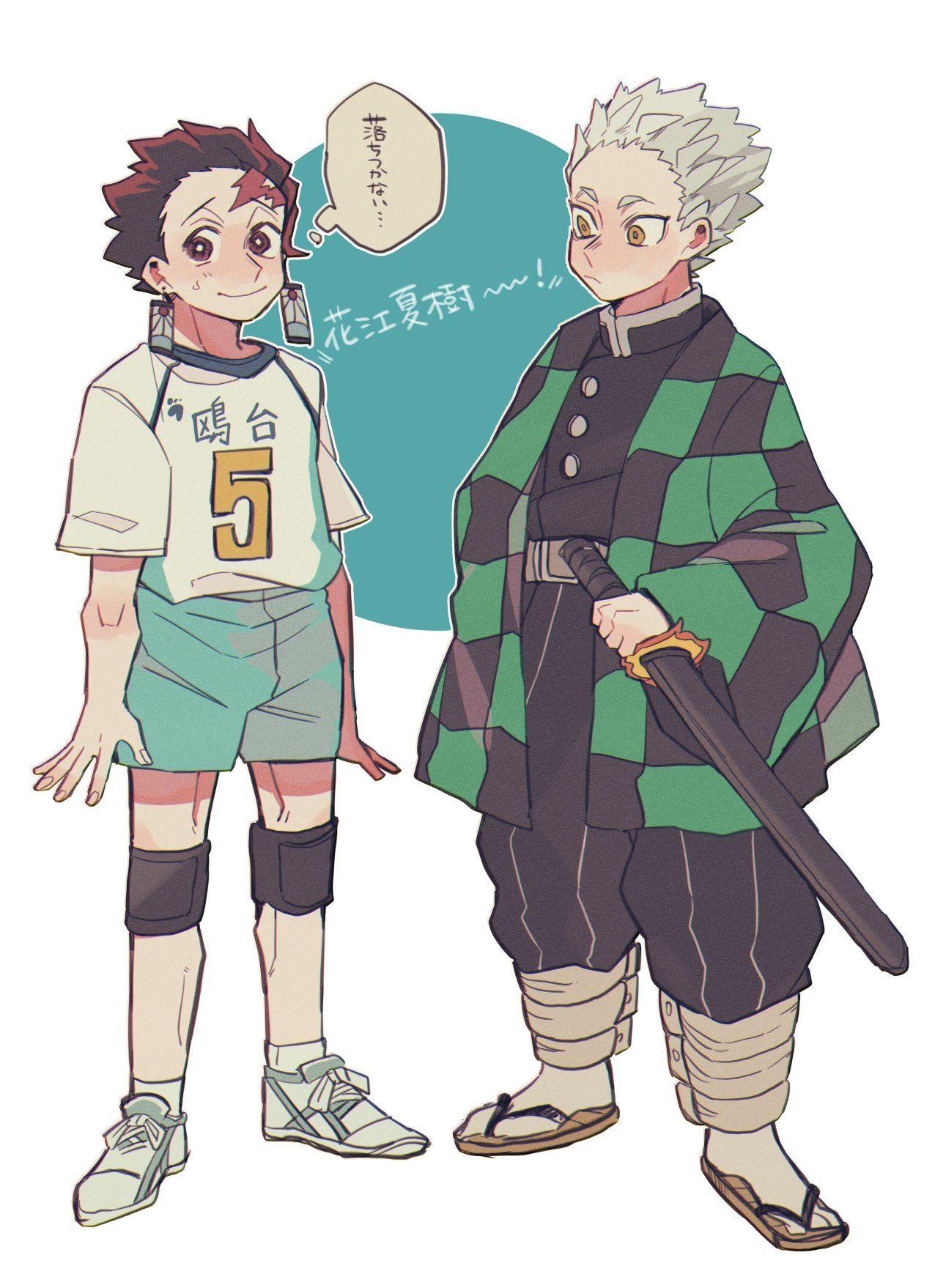 うぃむ on in 2020 Haikyuu anime, Anime crossover, Anime