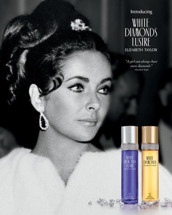 Elizabeth Taylor White Diamonds Lustre Is Fronted By Nia Long 2014 New Fragrance Celebr Elizabeth Taylor Perfume Elizabeth Taylor Elizabeth Taylor Diamond