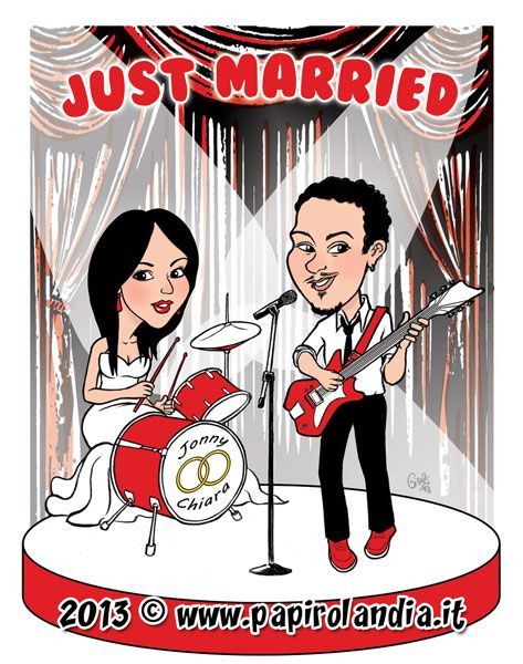 23bfa9603ad7 Scopri come usare le caricature degli sposi per rendere il Tableau de  Mariage del tuo matrimonio più originale e divertente.