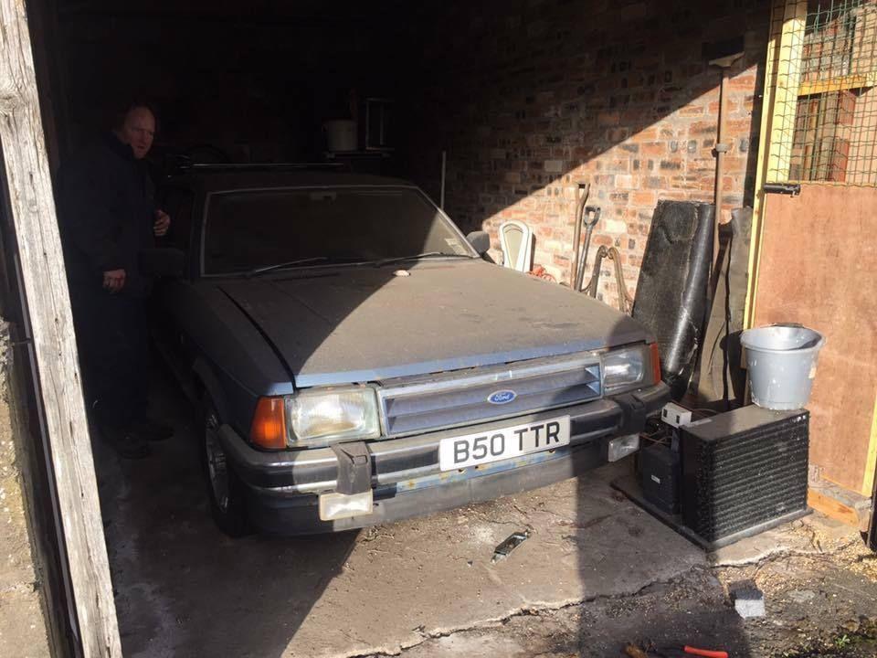 Ebay Barn Garage Find Ford Granada Mk2 2 8i Ghia X Estate Loads